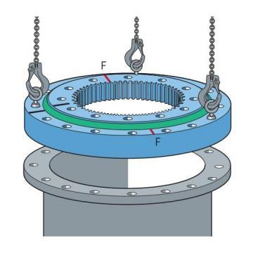 Qj Bearing Four Point Angular Contact Ball Bearing Qj218 Ma