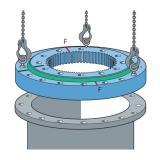 Kaydon Thyssenkrupp Psl Roballo Rotek Isb Rotis Imo SKF NSK Rothe Erde Replacement Slewing Ring Bearing