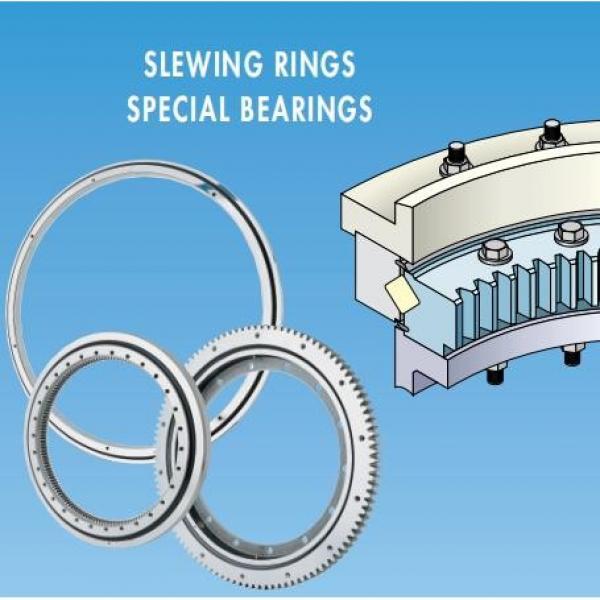 Excavator Slewing Rings Crane Slewing Bearing Komatsu Hitachi Kobelco Caterpillar Hyundai #1 image